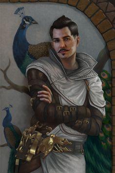 Dorian Pavus ( Companion In Dragon Age Inquisition )