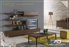 LOTUS WALL UNIT   Lotus gives a new meaning to comfort as it widens time and space.