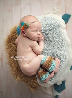 Hey, I found this really awesome Etsy listing at https://www.etsy.com/listing/128322281/newborn-aqua-and-gold-native-american