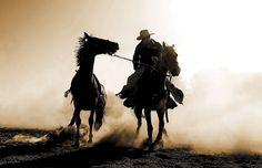 Cowboy. DAMA DE TRÉBOLES