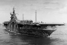 USS Shangri-La (CV-38) was an Essex-class aircraft carrier that took part in the latter stages of World War II and served during the Vietnam War.