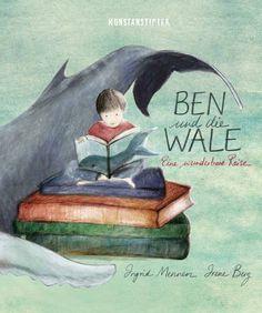 Irene Berg & Ingrid Mennen Ben und die Wale Eine wunderbare Reise Buchgestaltung Yimeng Wu Gemeinsam auf einer Klippe am Meer zu stehen und Wale zu beobachten ist die Lieblingsbeschäftigung von Ben und seinem Großvater. Eines Tages stirbt der alte Mann jedoch und der Junge muss lernen, mit diesem Verlust zurechtzukommen. Sein Vater erzählt …