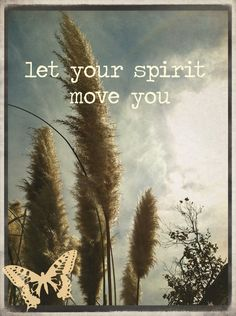 ♥ let your spirit move you ♥