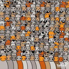 Você pode encontrar o cão?   Playbuzz