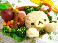 bento recipes for kids japanese style | ... Blog » Blog Archive » Charaben Japanese Bento Box Food Design