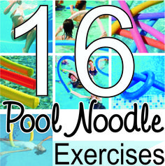 Workout Routines For The Gym : Victoria Lavender Sunny In Tucson: 16 Pool Noodle Exercises. - All Fitness Pool Noodle Exercises, Water Aerobic Exercises, Swimming Pool Exercises, Pool Workout, Water Workouts, Workout Exercises, Workout Routines, Summer Workouts, Band Workouts