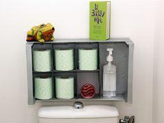 Un rangement malin récup' pour vos WC | Les Ateliers de Mireia | DIY, tutoriels, idées déco & loisirs créatifs