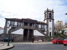"""Praia da Vitoria """"Camara"""" Court house. Azores"""