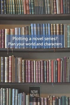 Plotting a novel series means writing characters that sustain readers' interest. Worldbuilding is important too. Read more on how to plot a novel series.
