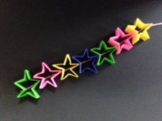 Japenese Tanabata Decorations Holiday | 簡単!折り紙 織姫と彦星の折り方 七夕飾り|Origami ... Tanabata, Origami, Nihon, Xmas, Origami Paper, Origami Art
