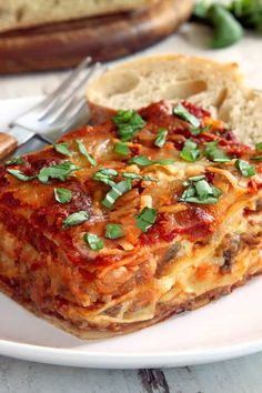 Gluten Free Lasagna - Gluten-Free Dinners Gluten Free Lasagna Classic gluten free lasagna is easy to make and tastes just like you remember. Go all out with this easy recipe, and bring back the ultimate comfort food! Gluten Free Pasta, Gluten Free Dinner, Gluten Free Cooking, Free Paleo Recipes, Beef Recipes, Cooking Recipes, Chicken Recipes, Dairy Free Lasagna, Gluton Free