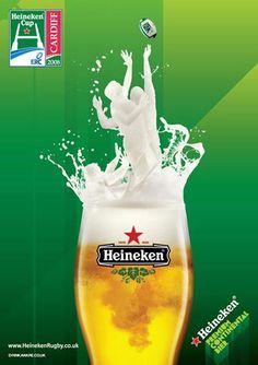 Heineken Advertising Campaigns On Print And Tv