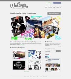 Wollage is a very advanced social scrapbooking website that allows users to create a scrapbook using an advanced jQuery/HTML5 canvas editor and share it with their friends. This social networking website was developed by Snyxius using technologies such as HTML5, jQuery and PHP/mySQL.