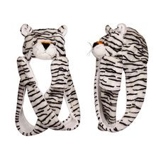 Wholesale White Tiger with Long Arms Animal Hat A112 (1 pc.) $6.00 a piece