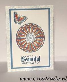 Stampin' Up! Graceful Glass Suite: Painted Glas Stamp Set & Stainless Glass Thinlits