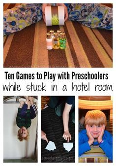 Hotel Room Games with Kids