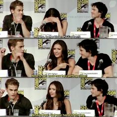 Image de Nina Dobrev, the vampire diaries, and ian somerhalder
