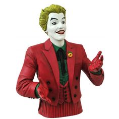 Batman 1966 Classic TV Series Bust Banks - Joker