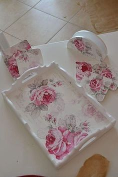 1 million+ Stunning Free Images to Use Anywhere Decoupage Vintage, Decoupage Glass, Decoupage Furniture, Decoupage Paper, Shabby Chic Lamps, Shabby Chic Crafts, Shabby Chic Farmhouse, Photo Frame Decoration, Painted Trays