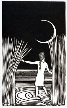 'In my dreams'  Linocut  Di Oliver  http://printuniverse.ning.com/profile/DiOliver?xg_source=activity