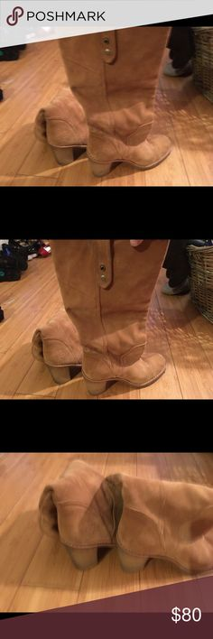 Uggs Wore once up to your knee uggs Shoes Ankle Boots & Booties