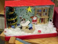 Christmas Shoebox Diorama.12 Best Kijkdoos Images Diy For Kids Crafts Cardboard Toys