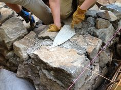 Stone House Construction | Building a Stone Foundation
