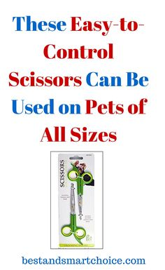 The Pet Magasin grooming scissors kit offers a great deal to all pet owners since you can enjoy...continue reading by clicking here --> http://bestandsmartchoice.com/2015/09/these-easy-to-control-scissors-can-be-used-on-pets-of-all-sizes/
