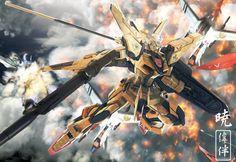 Akatsuki Gundam  http://static.zerochan.net/full/04/42/257104.jpg