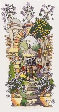 Secret Gardens 2 - Michael Powell.  Took me nearly two years to complete this one, but loved doing it!