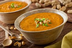 Famous peanut soup from West Africa