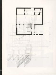 PLAN_uSixth Street Residence; Morphosis (Santa Monica, California
