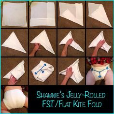 Mini kite/ jelly roll fold