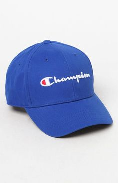 19eacc35fe6 Champion Classic Twill Strapback Dad Hat - Black 1Sz Champion Clothing