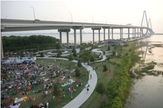 Memorial Waterfront Park and Pier for picnic and fishing tourney
