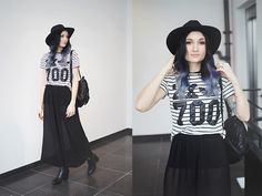 Get this look: http://lb.nu/look/7131272  More looks by Angela Doe: http://lb.nu/angeladoe  Items in this look:  Urban Outfitters Culottes, Adidas T Shirt, Karl Lagerfeld Backpack, Acne Studios Boots   #bohemian #edgy #grunge