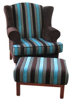 vintage wingback chair in flowered by style a beautiful home pinterest wingback chairs upholstery and upholstered