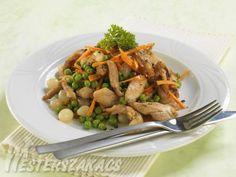 Csirkemell receptek Chicken Recipes, Curry, Meat, Food, Curries, Essen, Meals, Yemek, Eten