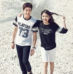 """IU and Lee Hyun Woo Are the Perfect Couple In Spring Photoshoot for """"UnionBay"""" 
