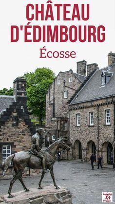 Edimbourg Ecosse Voyage – Visite du Chateau d'Edimbourg, un incontournable avec de belles vues sur la ville et les joyaux de la couronne écossaise   Voyage Ecosse   Ecosse Itininéraire   Que faire à Edimbourg