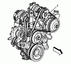 1999 chevrolet tracker serpentine belt routing and timing