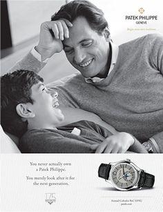 Patek Philippe SA - Publicidad de productos Calendaraio Anual Ref. 5205G