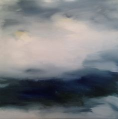 'Then the Rain Came', oil on canvas, 60x60cm www.siobhanleonard.com