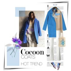 """""""Hot Trend: Cocoon Coats"""" by claudiakohl on Polyvore"""