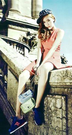 Girls ' Generation Jessica Vogue Girl Korea 2013 Paris