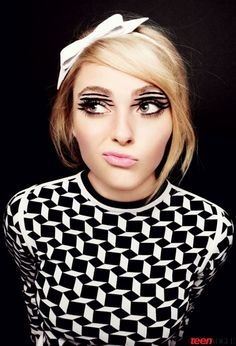 f44fd785af5 Anna Sophia Robb Teen Vogue February Kind of the coolest makeup ever.
