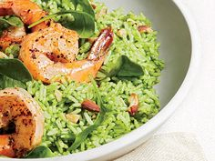 Serve this brand-new twist on the old rice salad warm, or make it ahead, chill, and serve cold.