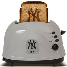 You can always gift me this!!! A reason to eat bread. New York Yankees ProToast™ Toaster Item No: 4047766