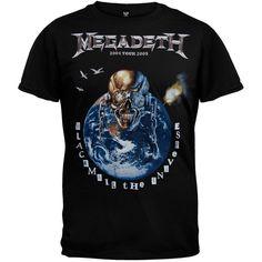 Megadeth - Blackmail The Universe 05 Tour T-Shirt