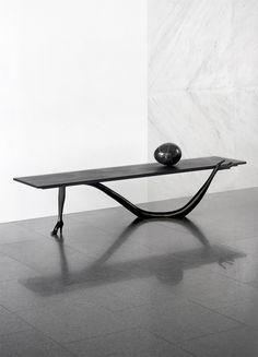 Aybar Gallery Table Desk, Dining Room Table, Console Table, Metal Furniture, Table Furniture, Furniture Design, Single Sofa, Creative Home, Bedroom Decor